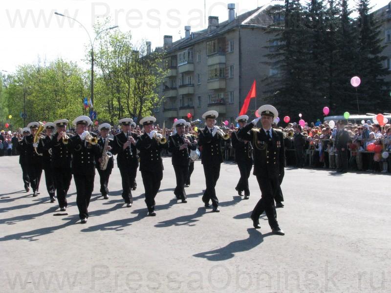 маршрут парад в обнинске на 9 мая 2016 что